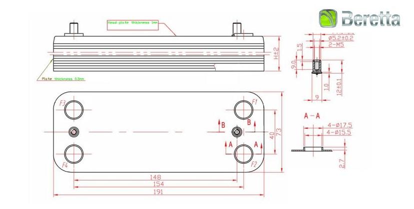 Теплообменники гвс квт Паяный теплообменник-испаритель Машимпэкс (GEA) GNS-HP 700AE Уссурийск