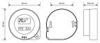 Терморегулятор Euroster Q1 TX RX беспроводной (суточный программатор) 1