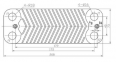 Теплообменник ГВС (10 пластин) Saunier Duval Themaclassic, Combitec, Semia (аналог S1005800) 0