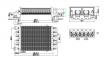 Теплообменник битермический Ariston Egis 24 FF, AS 24 FF (аналог 65106300) 0