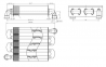 Теплообменник монотермический первичный Ariston 24 FF (c 2008 года выпуска) (аналог 65106297) 0