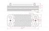 Теплообменник ГВC для ZW23KE Bosch    8705406264 0