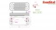 Теплообменник ГВС вторичный 18 пластин Fondital Tahiti Dual Line CTFS 28 кВт (аналог 6SCAMPIA02) 0