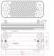 Теплообменник ГВС (10 пластин) Junkers Ariston Uno (аналог Zilmet 17B1901000) 0
