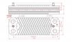 Теплообменник ГВС (14 пластин) Protherm Tiger 24 KTV12, 24KOV12 (аналог 002002294) 0