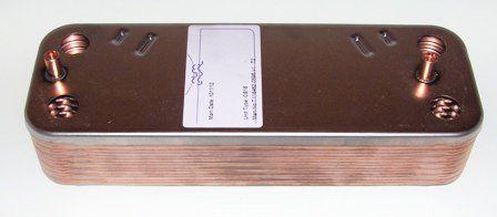 Теплообменник ГВС для ZW23-1KE/AE В:В Bosch    8705406287