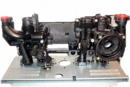Гидроблок Viessmann Vitopend 100-W WH1D 30 кВт двухконтурный 7833963