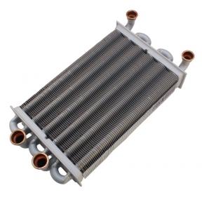 Теплообменник битермический (260 мм) Ariston Egis 24 FF , AS 24 FF (до 01.03.2008 года выпуска), Egis 24 CF , AS 24 CF 65105094