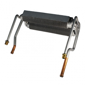 Теплообменник битермический (длинные трубы) Ferroli Domicompact C30 / F30, Domina C30E / F30E 39811450 (37403500)