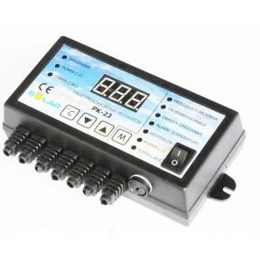 Контроллер  NOWOSOLAR PK-23 (для ЦО, ГВС, вентилятора)