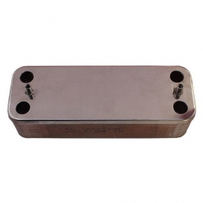 Теплообмeнник ГВС Ariston Microgenus, Microgenus Plus 30 кВт 998483 (аналог 573295, 12035361,65100972, 65101902)