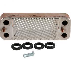 Теплообменник ГВС Saunier Duval (16 пластин) Isofast     S1024800