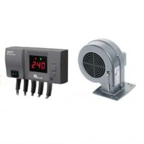 Блок управления KG Elektronik CS-20 + вентилятор DP-02К