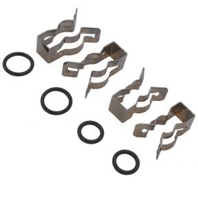 Комплект (клипсы 18 мм + сальники) для битермического теплообменника Immergas 39840260
