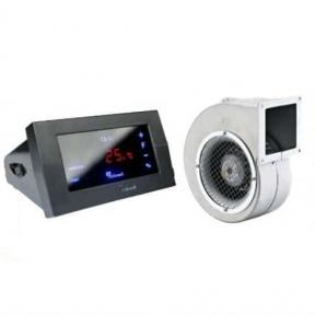 Блок управления KG Elektronik CS-19 + вентилятор DP-120 ALU