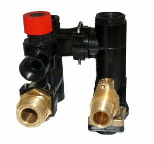 Трехходовой клапан в сборе (гидроблок) Protherm Рысь Lynx, Ягуар, Гепард (аналог 0020118698)