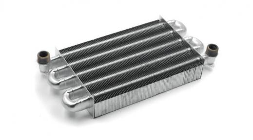 Теплообменник монотермический Ariston Microgenus 23 MI, 23-27 MFFI, Microsystem 21-28RFFI (аналог 998620, 998893)