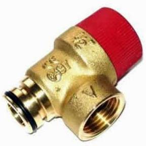 Клапан предохранительный Ariston Uno, Microgenus Plus 65103222, 997088,  R1806, R2907, 6VALSIBA07, 1/016135