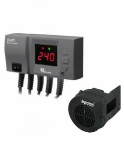 Блок управления KG Elektronik CS-20 + вентилятор DPA-120