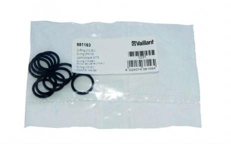 Уплотнительное кольцо (15 x 2 мм) теплообменника ГВС Vaillant MAX Pro-Plus (10шт.) 981163