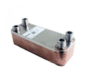 Теплообменник ГВС (20 пластин) Vaillant MAX Pro-Plus 32 кВт, 36 кВт VUW /2, R1, R3, 065153