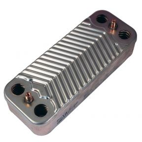Теплообменник ГВС (14 пластин) Immergas Nike / Eolo Mini, Nike / Eolo Mini Special, Victrix 24 кВт  1.022220