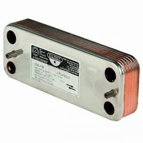 Теплообменник ГВС (вторичный) 14 пластин Zilmet 17В1901401 Beretta City, Mynute, Super Exclusive (аналог R8036, 995945)