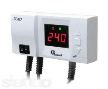 Терморегулятор KG Elektronik CS-07 (для ЦО)