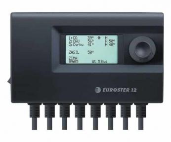 Блок управления EUROSTER 12 трехканальный (для управления работой любых 3-х устройств в системе отопления)