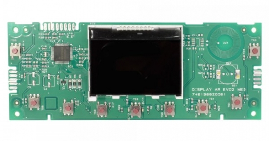 Плата дисплея Ariston Clas X, Clas One X 65115776