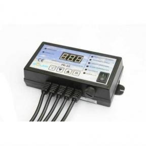 Контроллер  NOWOSOLAR PK-22 (для ЦО, вентилятора)