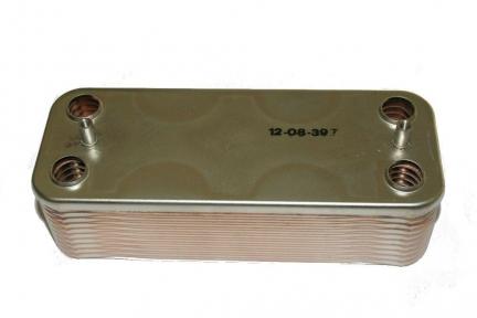 Теплообменник ГВС 28 кВт Beretta City, Mynute, Super Exclusive R8037