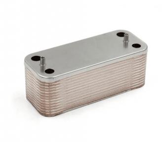 Теплообменник ГВС вторичный 26 пластин Fondital Nias Dual BTFS 28-32 кВт (аналог 6SCAMPIA06)