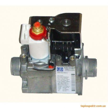 Клапан газовый 845 SIT Sigma  0.845.076 Vaillant, Beretta ,Immergas Nike Mini , Hermann, Demrad и др.