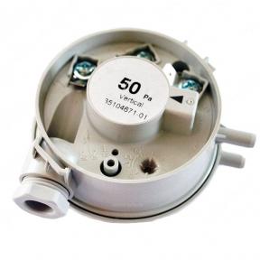 Прессостат (датчик давления воздуха) 50 Pa Ariston Clas, Genus, Egis 24-35 FF 65104671, 65104671-01