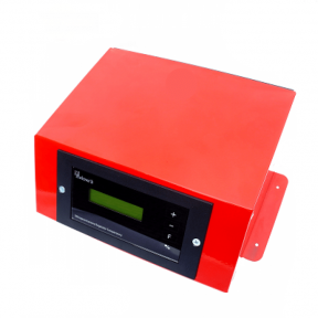 Блок управления KG Elektronik CS-26 настольный, в стальном корпусе (для насосов ЦО, ГВС, вентилятора, теплого пола, 3-х или 4-хходовыми сервоприводами в системае ЦО, с возможностью подключения комнатного термостата или комнатной панели CS или SP)
