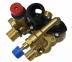Группа трехходового клапана в сборе (с краном подпитки и предохранительным клапаном) Demrad Kalisto mono, Nitron (аналог 3003201220)