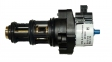Трехходовой клапан с шаговым электродвигателем Viessmann Vitopend 100-W WH1B 7824699