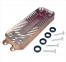 Теплообменник ГВС (12 пластин) Vaillant Atmo TEC, Turbo TEC Pro, Eco TEC Pro, Eco TEC Plus, mini R1, R2 0020020018 (аналог 0020059452)